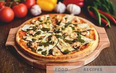 Pizza aux aubergines - peu importe la façon dont vous cuisinez, toujours un peu! Recettes de pizza aux aubergines et au fromage, tomates, champignons, saucisses