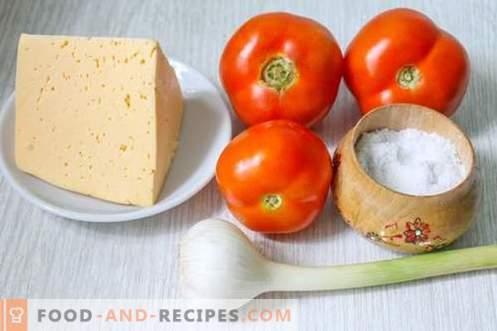 Collations instantanées à la tomate en 15 minutes - beauté, goût et bienfaits des légumes d'été