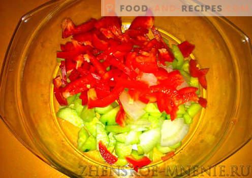 Salade coréenne