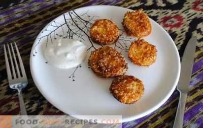 Les tomates vertes frites sont une collation inhabituelle à base de produits simples. Recettes pour Tomates Vertes Frites Gourmet