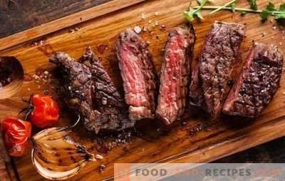 Erreurs dans la cuisson de la viande. Pourquoi il est devenu sec et dur, sent mauvais ou amer: comment le réparer?