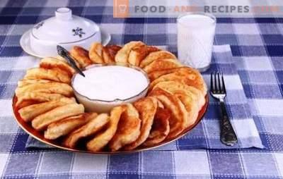 Beignets au lait - les meilleures recettes et astuces. Comment faire cuire des crêpes délicieuses et moelleuses avec du lait