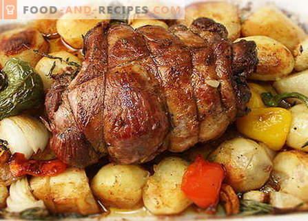 Mouton au four - les meilleures recettes. Comment bien et savoureux cuire l'agneau au four.