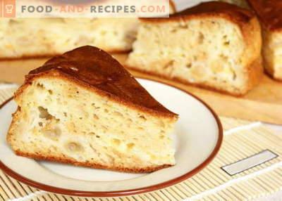 Tarte au kéfir - les meilleures recettes. Comment faire cuire correctement et délicieusement un gâteau au kéfir.