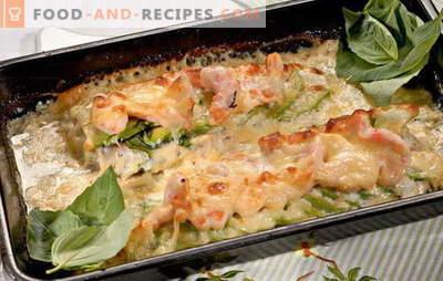Le filet de morue au four est simple, sain et savoureux. Les meilleures recettes pour le filet de morue au four: avec légumes, fromage, crème sure et pita