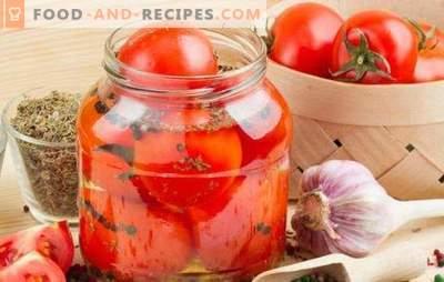 Tomates épicées pour l'hiver: une collation piquante pour toutes les occasions. Recettes classiques et créatives de tomates chaudes pour l'hiver