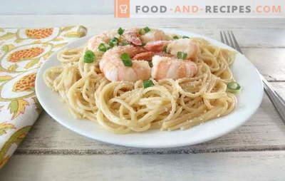 Спагети със скариди - ястие, което италианците биха искали! Най-добрите рецепти за спагети със скариди и сосове към тях