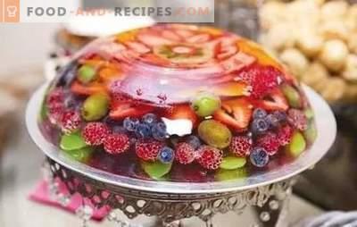 Les gelées de fruits sont un dessert facile pour ceux qui suivent leur silhouette. Une sélection de recettes de gelée de fruits simples et originales
