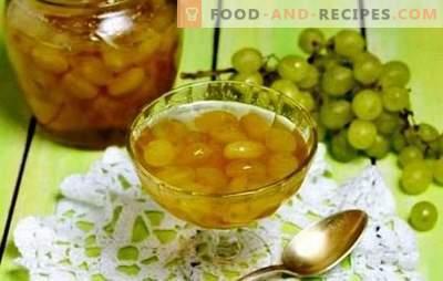 Remplissez le garde-manger - confiture de raisin de noyaux. Enrichissez vos recettes avec de la confiture de raisin et des noyaux