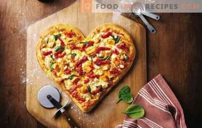 La pizza à la mayonnaise est un plat préféré sans tracas. Une sélection de recettes pour la pâte à pizza en mayonnaise