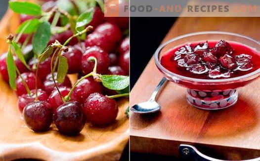 Confiture de cerises: comment cuisiner de la confiture de cerises