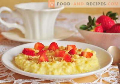 Porridge dans la mijoteuse - les meilleures recettes. Comment faire cuire la bouillie dans une mijoteuse.
