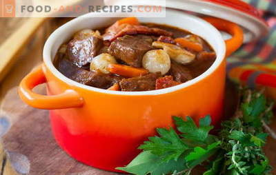 Ragoût de porc - nous cuisinons avec plaisir! Différentes recettes de ragoût de porc aux légumes, sarrasin, riz, haricots verts