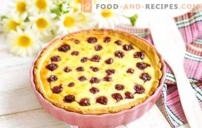 Gâteau aux cerises - des goûts extraordinaires! Recettes de différentes pâtisseries aux cerises: biscuits, tartes, gâteaux, strudel, muffins