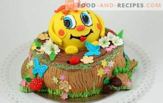 Gâteau des enfants avec leurs propres mains - pour les chéries les plus aimées! Recettes simples et jolies gâteaux pour enfants