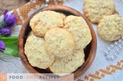Biscuits à l'avoine et aux raisins