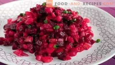Vinaigrette without cabbage