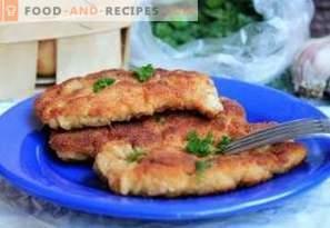 Quelle est la différence entre une schnitzel et une galette, une escalope, un bifteck, une côtelette