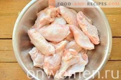Ailes de poulet comme KFC