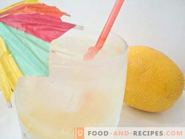 limonade au citron fait maison