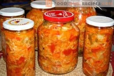 salade Kuban pour l'hiver
