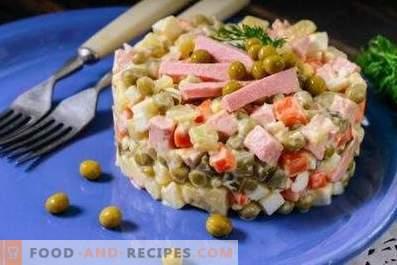Quelle est la différence entre la salade Stolichny et Olivier?