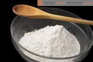 Comment remplacer l'amidon dans la cuisson