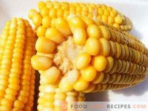 Comment congeler le maïs pour l'hiver