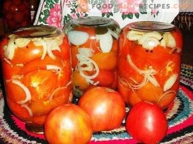 Tomates tchèques pour l'hiver