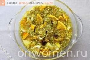 Confiture de courgettes à l'orange et au citron