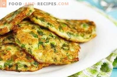 Muffins diététiques aux courgettes