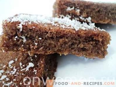 Petit gâteau au chocolat au four