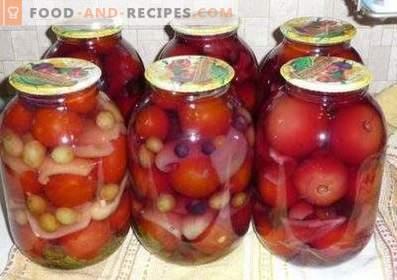 Tomates en polonais pour l'hiver