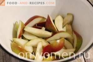Compote de poires pour l'hiver