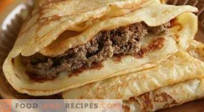 Farce pour les pancakes au foie