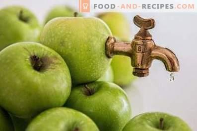 Jus de pomme: avantages et inconvénients