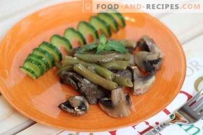 Boeuf aux haricots verts