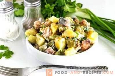 Salades de maquereaux