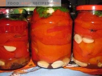 poivre bulgare arménien pour l'hiver