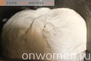 Galettes avec du chou au lait au four
