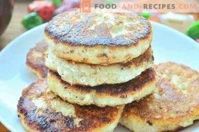 Cheesecakes à l'avoine sans farine