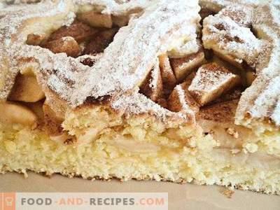 Tarte aux pommes de pâte sablée