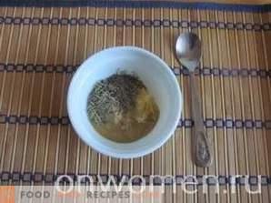 Jarret cuit au four avec des pommes de terre