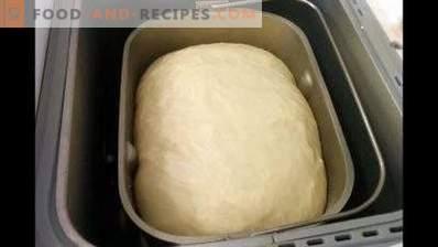 Pâte à tarte en machine à pain