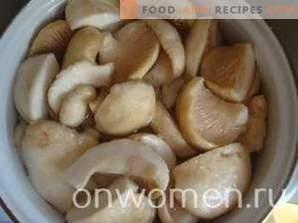Comment congeler les champignons pour l'hiver