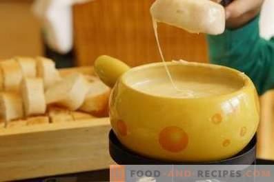 Fondue au fromage à la maison