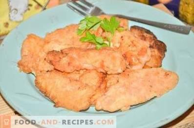 Nuggets de poulet au kéfir