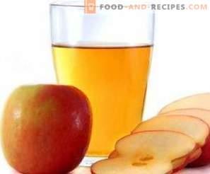 Vinaigre de cidre de pomme à la maison