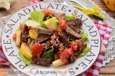 Salades de boeuf