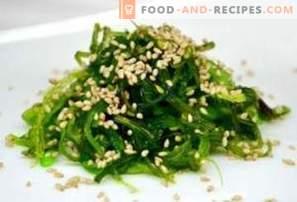 Salade de Chuka: avantages et inconvénients